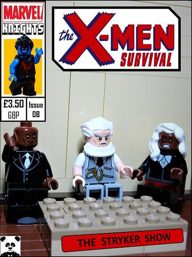 MKSG The X-Men: Survival - Issue #8