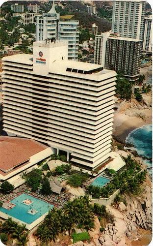 Acapulco Vista Aerea del Hotel Condesa del Mar MEXICO