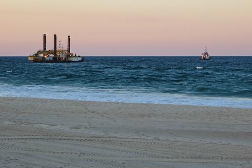 Palm Beach Views - dredge and tug