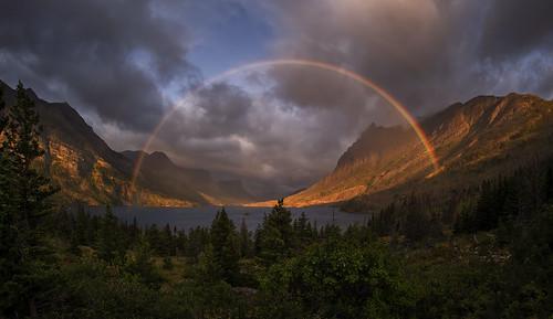 Unicorns And Rainbows At St Mary Lake