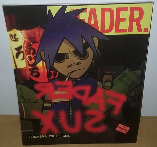 Fader Magazine Gorillaz Issue