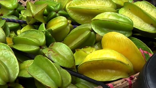Vietnam - Hanoi - Market - Star Fruit