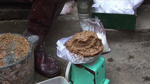 Vietnam - Hanoi - Market - Not What You Might Think! It´s Crab-Paste!