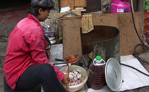 Vietnam - Hanoi - Streetlife - Food Stall - 184