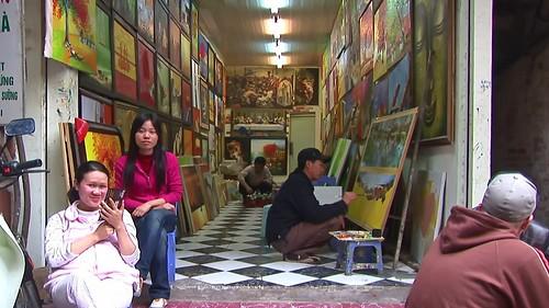 Vietnam - Hanoi - Streetlife - Art Studio - 1