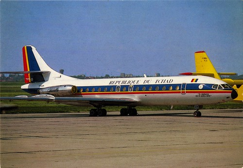 Republic of Chad - Sud Aviation Caravelle [20] - TCHAD [TF-AAN] - front