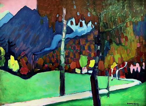 IMG_2099 Wassily Kandinsky 1866-1944 Etude d'automne près d'Oberau Herbststudie bei Oberau 1908 Autumn study near Oberau München Lenbachhaus