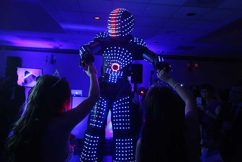 Hire LED Drummer Robots for Events in Miami