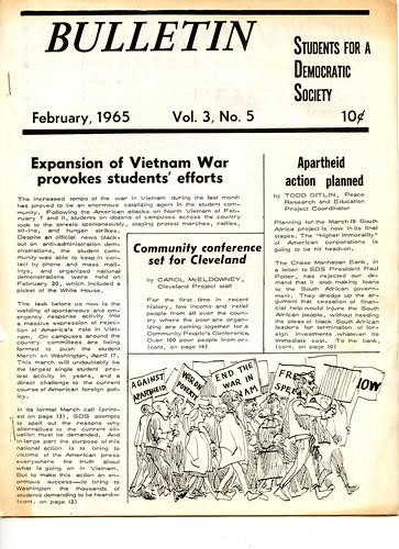 SDS Bulletin: 1965