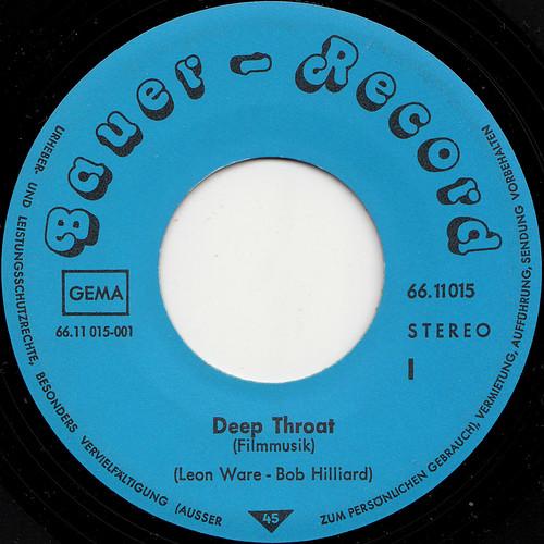 Uncredited - Deep Throat o.s.t. (I + II) 45rpm