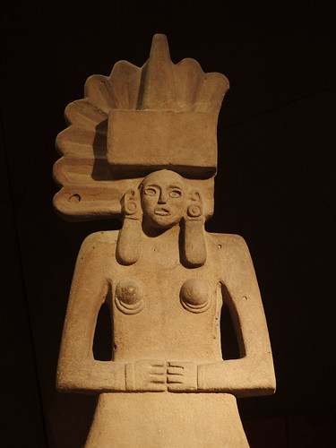 Huaxtec statue of Tlazolteotl, Mexico, 900-1521 AD