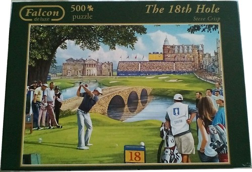 FALCON F ? 500  ART ? THE 18th HOLE Steve Crisp DELUXE BC,