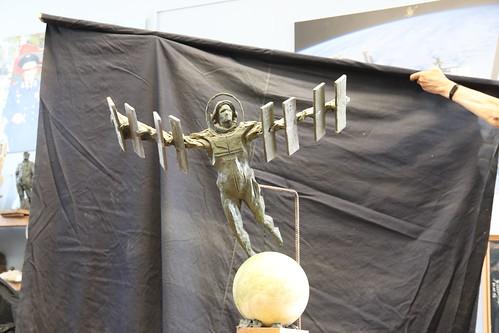 Фото Ивана Миско. Скульптура полет в космос. Photo by Ivan Misko. Sculpture space flight (8)