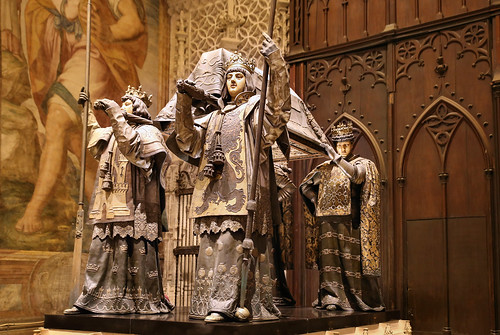 Tomb of Christopher Columbus - the man who discover America in 1492