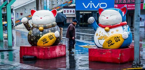 2019 - Shanghai - Zhujiajiao Ancient Water Town - Hello Kitty