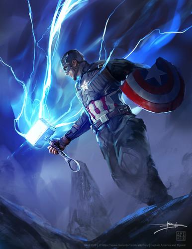 captain america 58