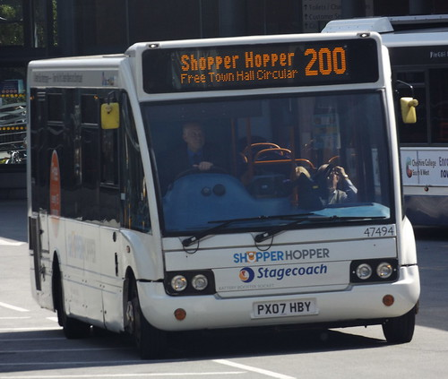 Stagecoach Merseyside 47494 Optare Solo PX07 HBY