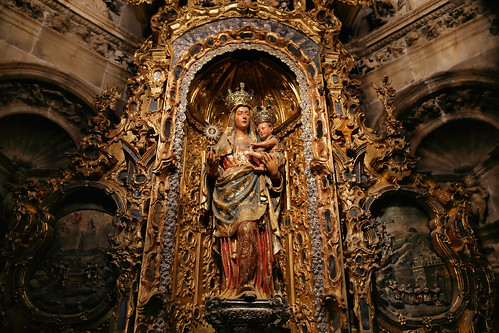 Mary with the infant Jesus at the Cathedral of Seville