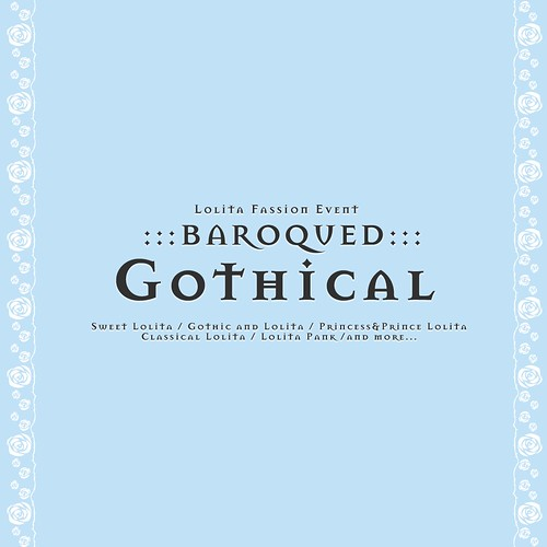 :::BAROQUED:::Gothical Desiners APP OPEN<3