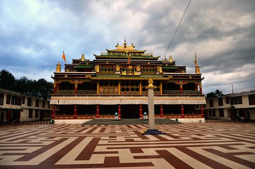Ralong Monastery (New) : Borong, South Sikkim, Eastern Himalaya, India - I