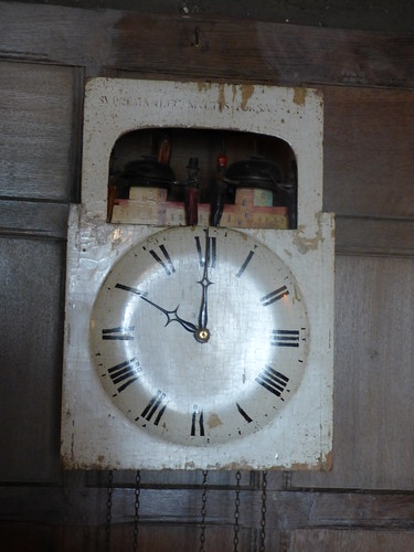 Snowshill Manor - the collection of C. P. Wade - clock