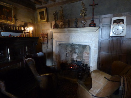 Snowshill Manor - the collection of C. P. Wade - fireplace