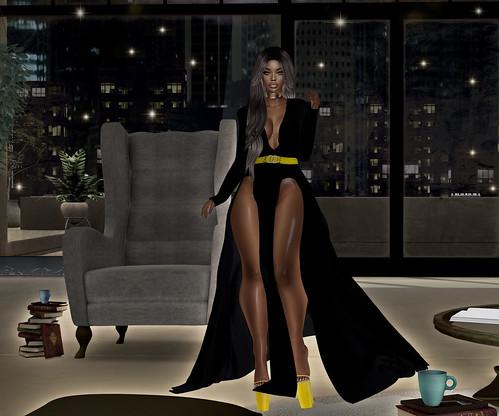 .Q. Vanity Dress Gown