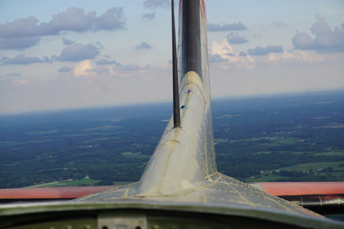DSC07076 Out the top looking at the tail coming along behind us over Moraine Park.