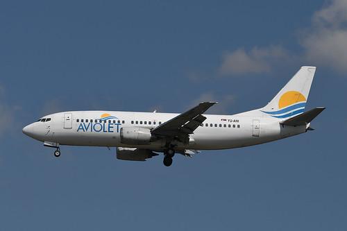 YU-ANI - B-737 - Aviolet [MXP 8.19]