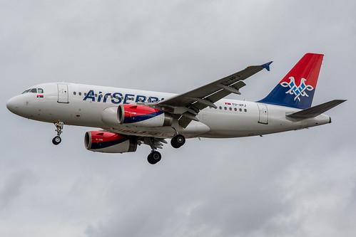 YU-APJ | Airbus A319-132 | Air Serbia