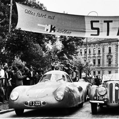 1939 Porsche 64 / Volkswagen Aerocoupe / Porsche Type 60K10 / Berlin-Rom-Wagen