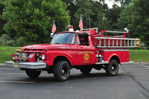 Fire Island Pines Fire Department Engine 1