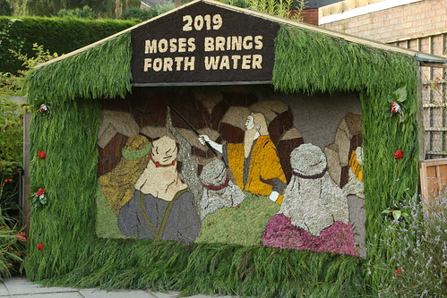 Barlow Valley Rise Well Dressing 2019