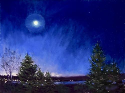 067 - Halo de lune par temps froid