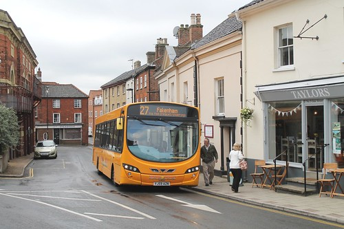 Sanders 406 0900hrs Fakenham Circular via The Creakes 130819