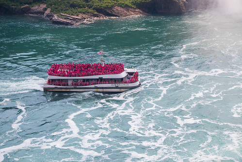 Hornblower Maid of the Mist Tour Boat