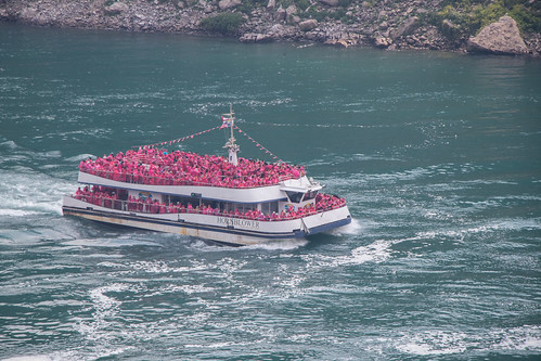 Hornblower Tour Boat, the Maid of the Mist
