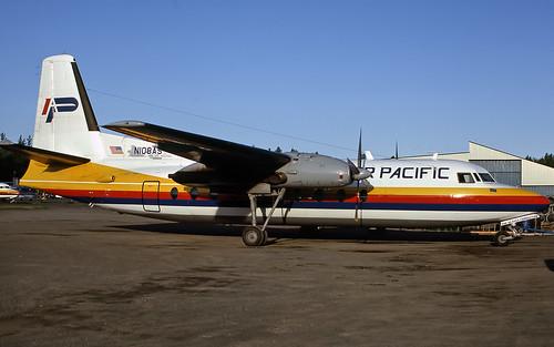 Air Pacific Fairchild F27 N108AS