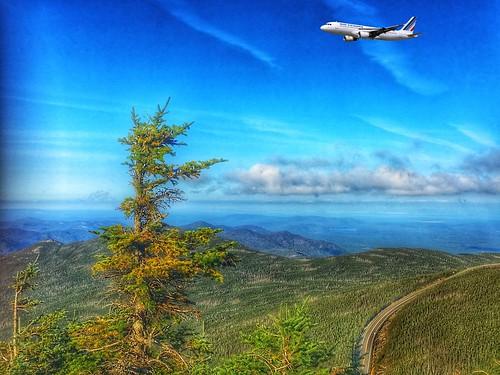 Adirondack Mountains - Whiteface Mountain - Lake Placid  -  New York  - Air France