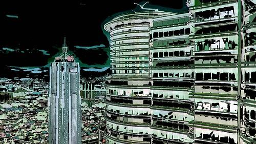 Malaysia - Kuala Lumpur - Petronas Twin Towers - 68ee