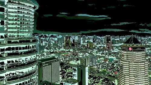 Malaysia - Kuala Lumpur - Petronas Twin Towers - 64ee