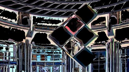 Malaysia - Kuala Lumpur - Petronas Twin Towers - Foyer - 51dd