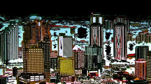 Malaysia - Kuala Lumpur - Petronas Twin Towers - 63ee