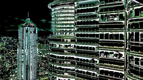 Malaysia - Kuala Lumpur - Petronas Twin Towers - 58ee