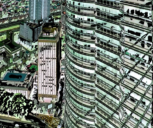 Malaysia - Kuala Lumpur - Petronas Twin Towers - 67ee