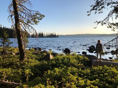Lake view + Lou