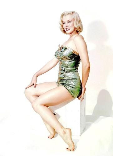 Marilyn Monroe fotografiada por Earl Theisen, 1951.