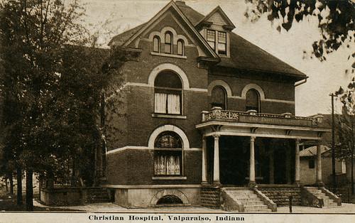 Christian Hospital, 1910 - Valparaiso, Indiana