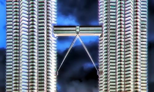 Malaysia - Kuala Lumpur - Petronas Twin Towers - 34gg