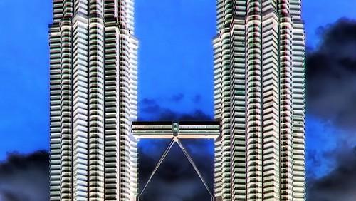 Malaysia - Kuala Lumpur - Petronas Twin Towers - 32bb